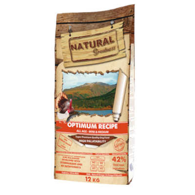natural greatness optimun mini pienso para perros