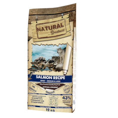 natural greatness pienso para perros adultos medium de salmon