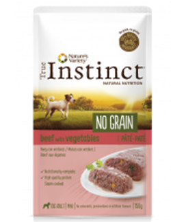 True Instinct No Grain Buey Mini