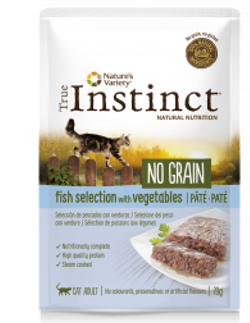True Instinct No Grain Pescados