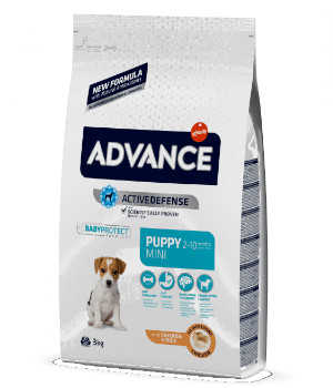 advance puppy mini para perros