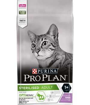 Proplan optirenal con pavo para gatos esterilizados