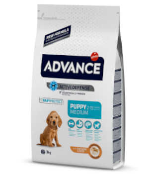 pienso para perros advance puppy medium